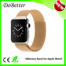 Magnetic Closure Milanese Loop Watch Strap Band For Apple Smart Watch