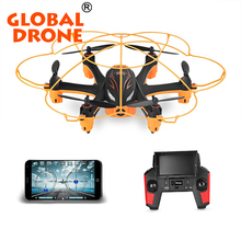 2.4Ghz Mini Rc Quadcopter Wltoys Q383 Drone With 720P Full HD Camera Headless Mode One Key Return 3D 360 Flip Hexacopter RTF