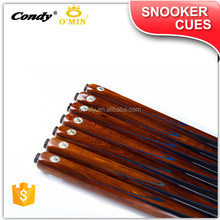 O'MIN spliced with the best quality of Dragon Scale Wood UK billiard snooker cue
