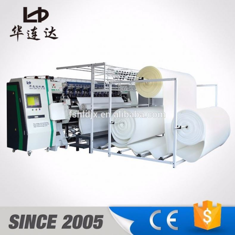 flat embroidery quilting machine for mattress