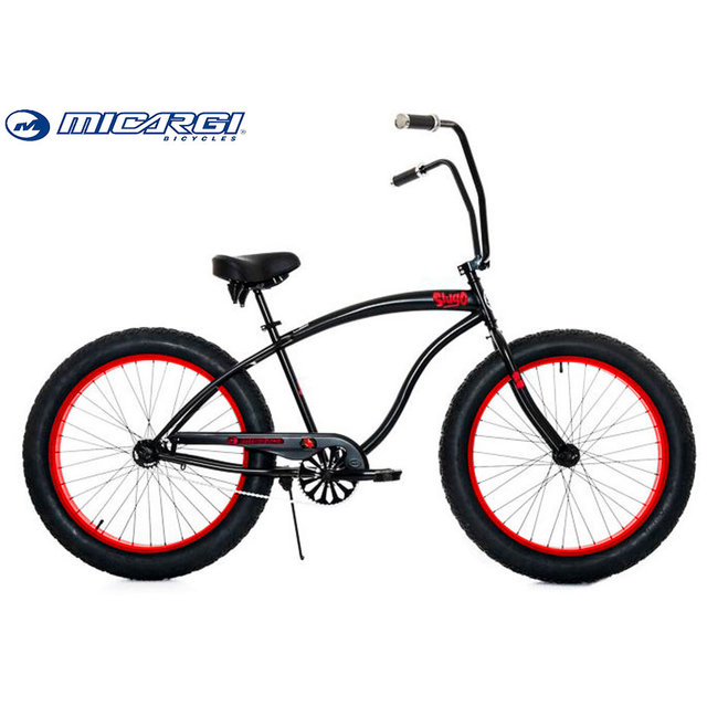 Micargi cheap fat tire cruiser snow bikes SLUGO 26 chopper china bicycle