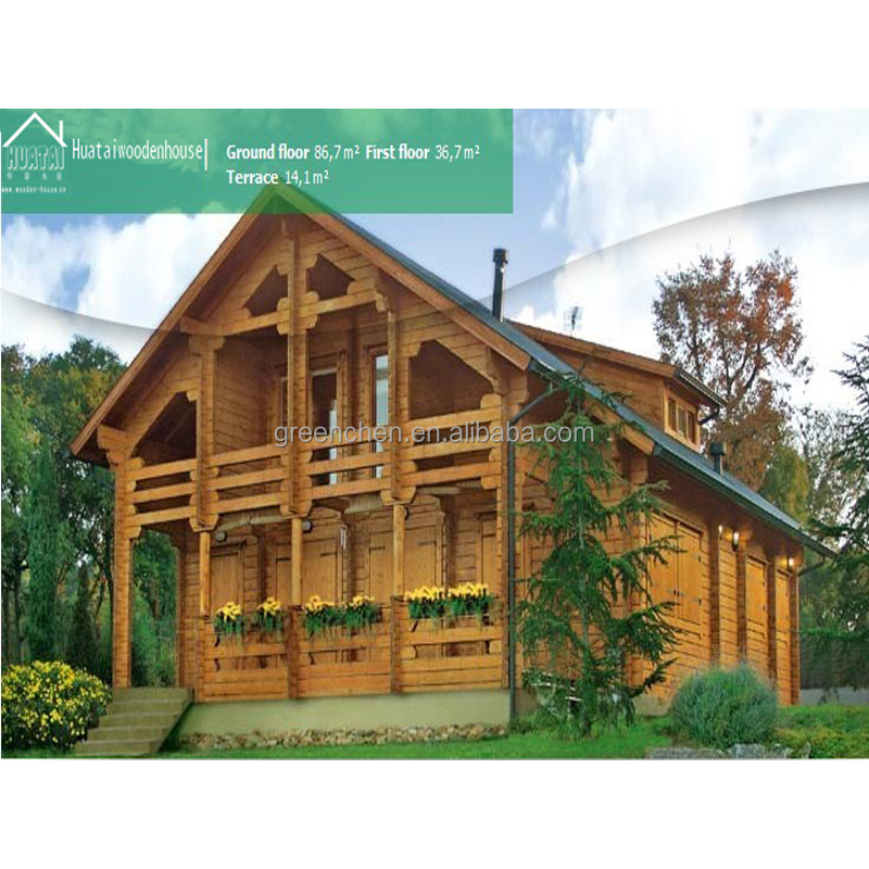 Cheap prefabricated modern wooden house design