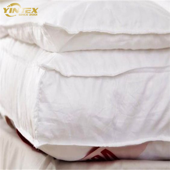 Cost Effective Brushed Microfiber Top Cover Filled with 3D Hollow Fiber Mattress Topper - Jozy Mattress   Jozy.net
