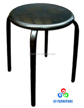 Cheap steel metal stackable stools for sale