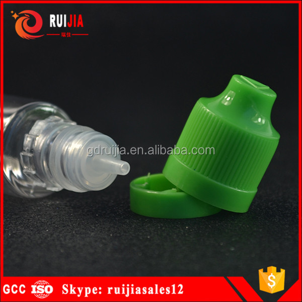 new design wide mouth 30ml unicorn plastic screw top PET material unicorn e liquid bottle