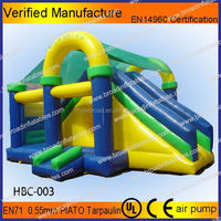 Kids commercial inflatable corsair slides