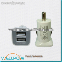 hottest high quality mini usb car charger with CE FCC RoHS