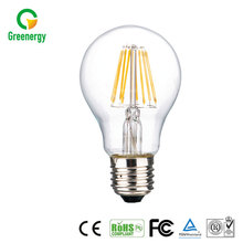 China best quality CE RoHS approved dimmable filament led bulb light