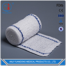 YD30048 Surgical elastic medical cotton crepe bandage clip(blue lines)