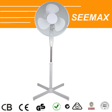 SEEMAX Electric DC Motor Air Cooling Pedestal Fan with PP blades