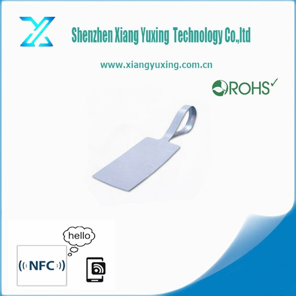 Anti-theft Small Size Security 13.56mhz hf/uhf RFID Electronic Price LabelJewelry Tags Sticker for Stock Control