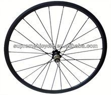 High quality 700c road bicyle for clincher or tubular carbon wheelset 700c carbon track wheelset