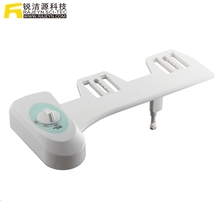 Adaptable Non Electric Manual Lavatory Plastic Manual Toilet Seat Bidet