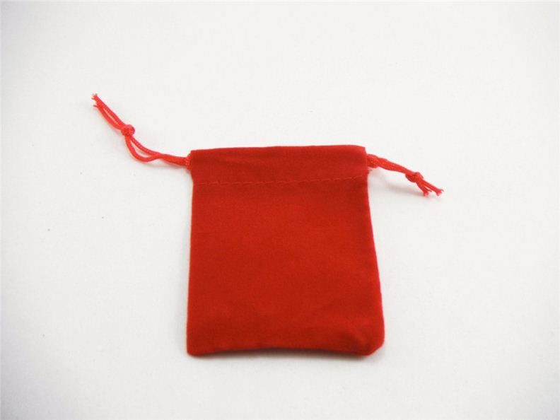 5X7CM Jewelry Travel Gift drawstring velvet Bags