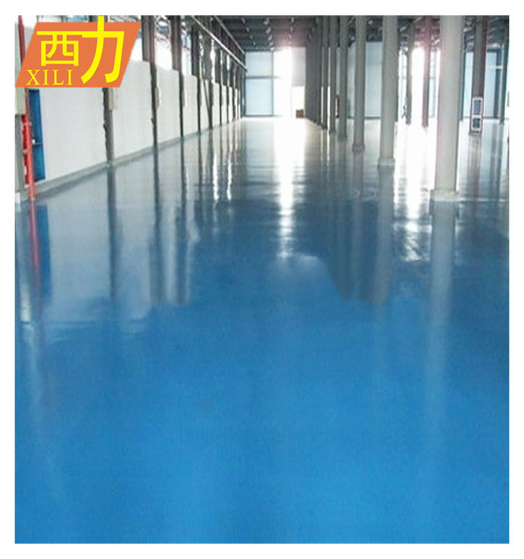 Air drying weather resistant epoxy resin floor paint
