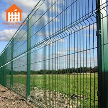 High quality welded galvanized wire mesh fence panels