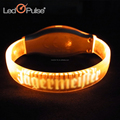 Christmas Sound Activated Motion Activated Musical Concert Cheering Led Flashing Bracelet Wristbands/Party Supplies
