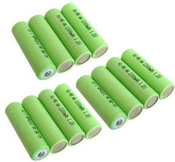 2000mah 1 5v Aa Ni Mh Rechargeable Battery Buy 1 5v Aa