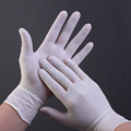 disposable rubber latex no sterile powder free gloves