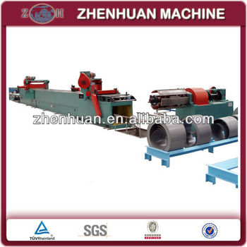 semi-automatic transformer lamination cut to length line