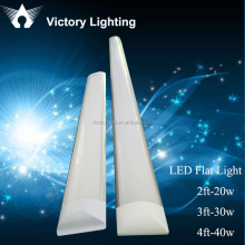 flat tube led IP65 Tri-Proof 1200mm led batten linear light