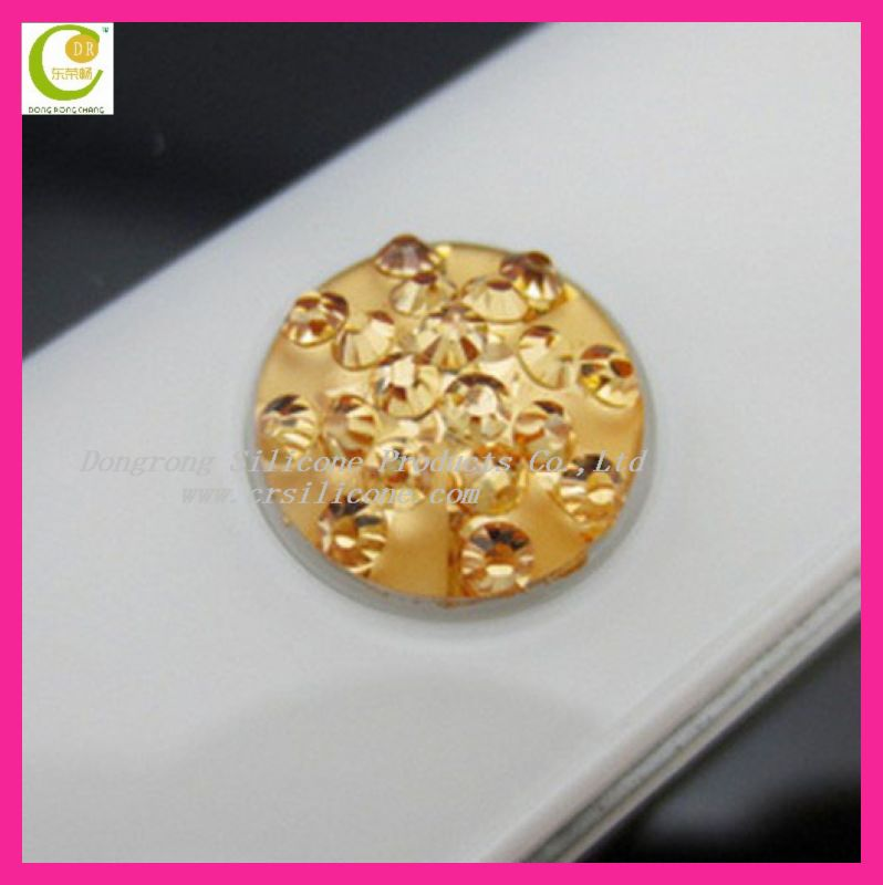 2012 Hot-sales mini home button sticker replacement for iphone/ipod/ipad/Nokia/blackberry/samsung