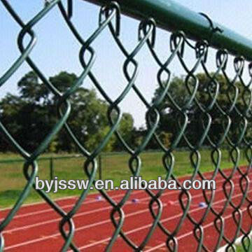 Hot Dipped Galvanized Chain Link Fence, Park,Lawn,& Forest Protecting