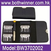 DA13 Precision Screwdriver Wallet 25 in1 Repair Tools Kit for Electronics PC Laptop