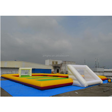 2015 most popular inflatable football field, giant inflatable soccer arena