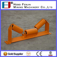 ISO Factory Large Capacity Steel Troughing Belt Conveyor Roller Made In China