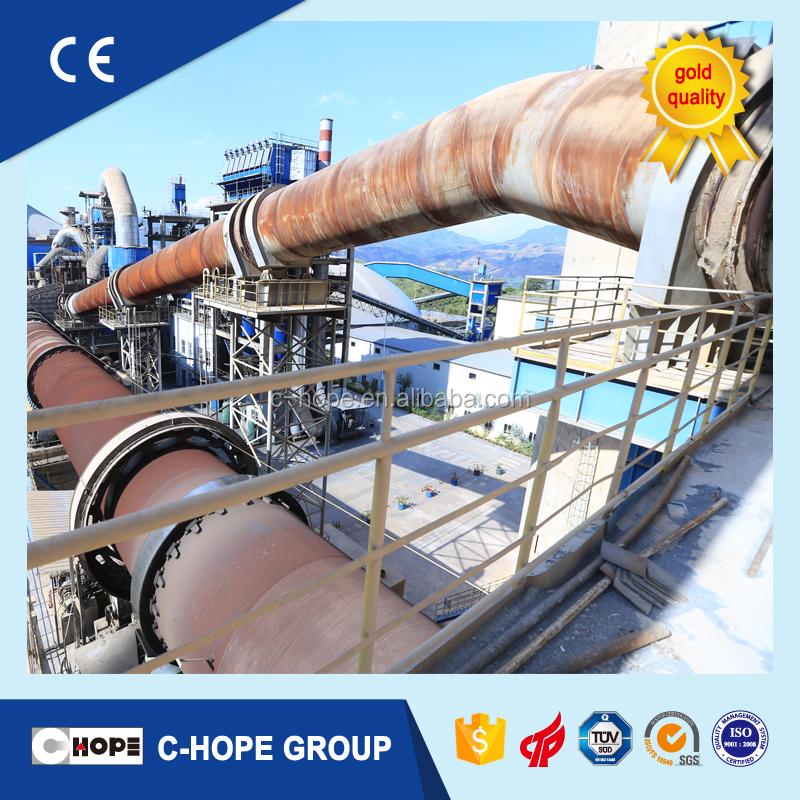 Quotation regarding 1000t/d to 10000t/d new dry process cement production with rotary kiln