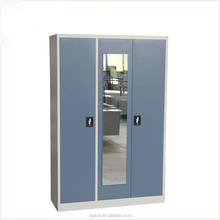 Factory Price Multi-functional Metal Clothes Cabinet / wardrobe