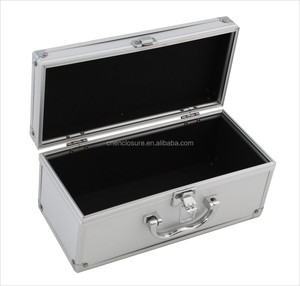 Aluminum sample carry tool case with foma