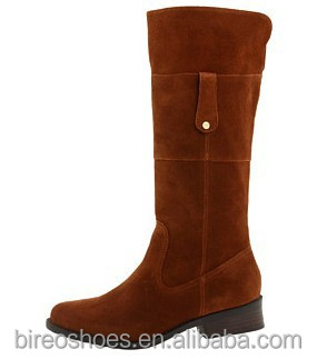 Leather boots women over knee boot(style no. WB12084)