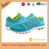 latest design air sift mesh material european running shoes for reseller