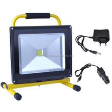 Portable standing outdoor flood light led work light 5w led with battery