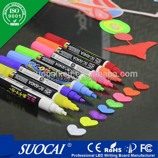 Private logo - window glass markers - 6MM reversible nib - size marker for hangers