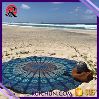 Cotton Fabric Textile Wholesale India Mandala Beach Towel Softtextile