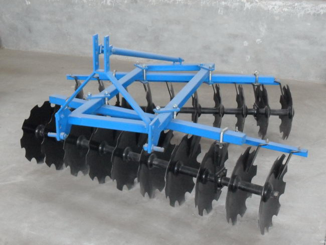 China Factory Price Best Selling agri semi-mounted disc harrow