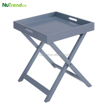 portable folding wooden tray folding table free standing