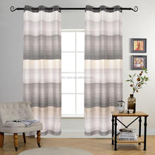 2018 chinese style curtains horizontal stripe curtain