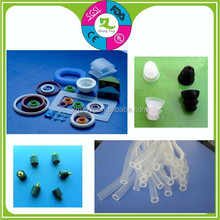 food grade transparent silicone curl cord medical rubber tube industrial rubber strip