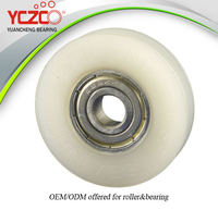 8x40x9mm ball bearing plastic wheel for suspension door