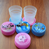 Promotional Travel Gifts High Quality Collapsible plastic Fold Cup