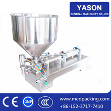 CFS1000 100-1000ml Single Head Laundry Detergent Filler Pneumatic Chemical Liquid Filling Machine