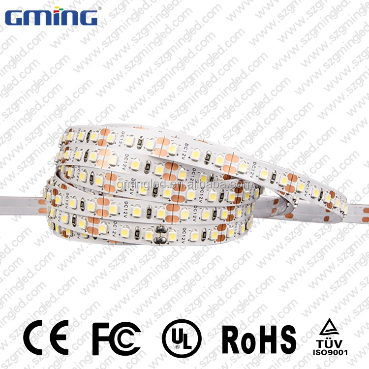 5M 12V 120Leds PCB 3528 SMD Warm White Flexible LED Strip Light