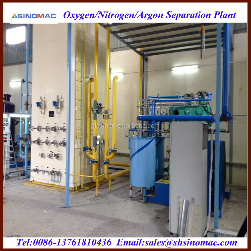 Liquid Oxygen Nitrogen Argon Production Plant Equipment
