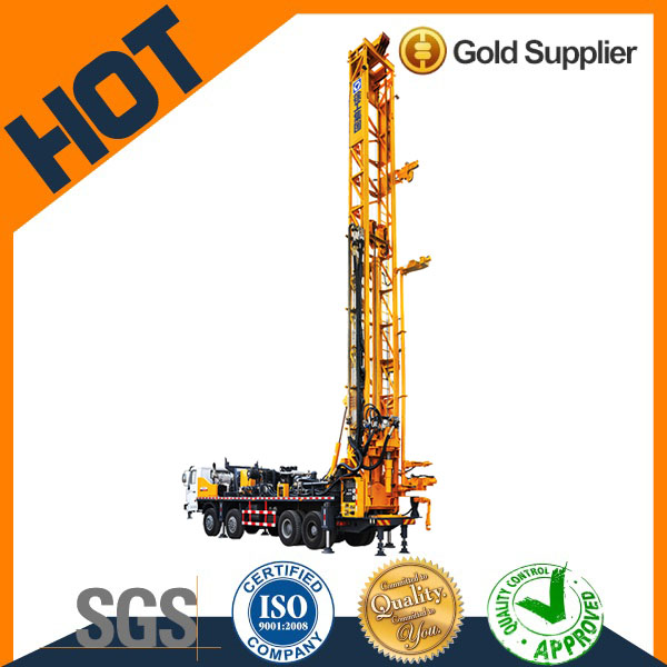 XCMG 600m depth truck mounted scale model soil investigation drilling rig XSC320