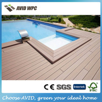 Easy-assembly and reasonable price wood plastic composite board/wpc board for sale