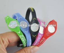2012 hot selling energy silicone wristbands
